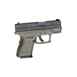 Springfield XD subcompact 9mm OD Green