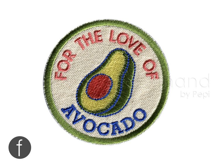 I love avocado iron on patch by ferdinandworks on etsy https www