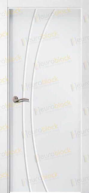 Fabrica de Puertas en Block Baratas Blancas Lacadas de Interior y en Maderas. PL2013