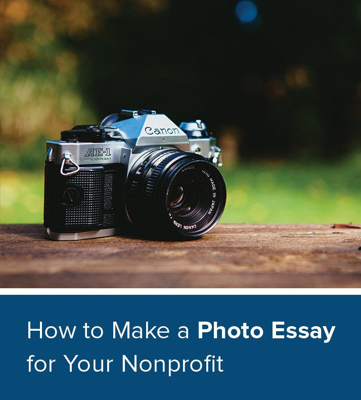 photographers essays