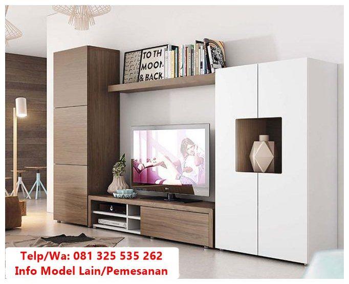Desain Bufet Tv Minimalis Duco Terpopuler Trend Lemari Bufet Tv Duco Minimalis Referensi Bufet Tv P Living Room Wall Units Living Room Tv Living Room Tv Unit