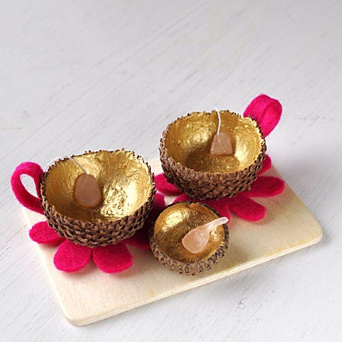 Top 25 ideas about acorn crafts on pinterest ladybug for Diy acorn crafts