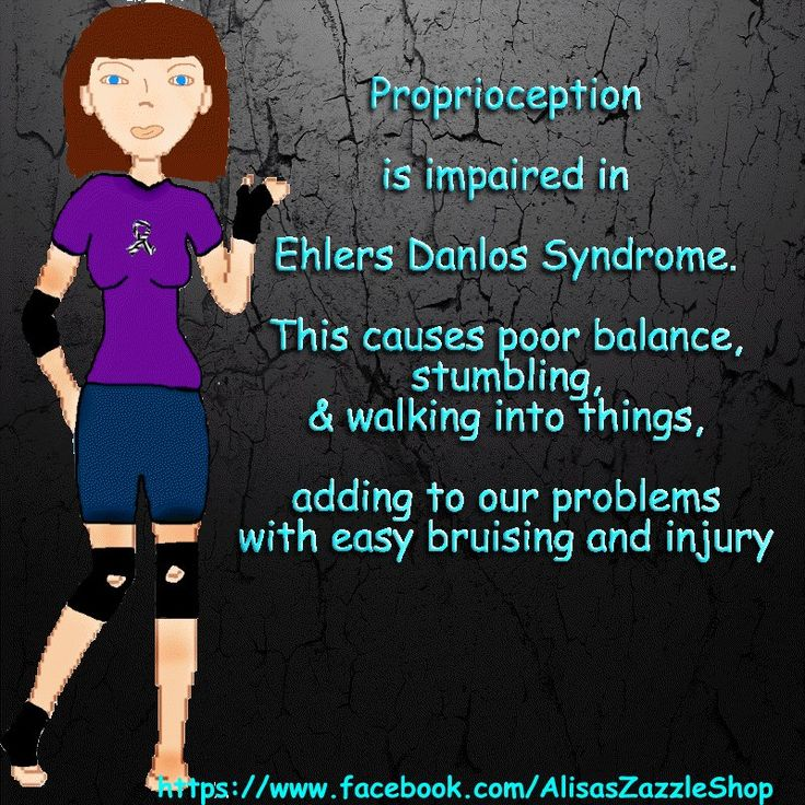 EDS. This would explain my poor balance. I always just wrote it off as an inner ear problem.