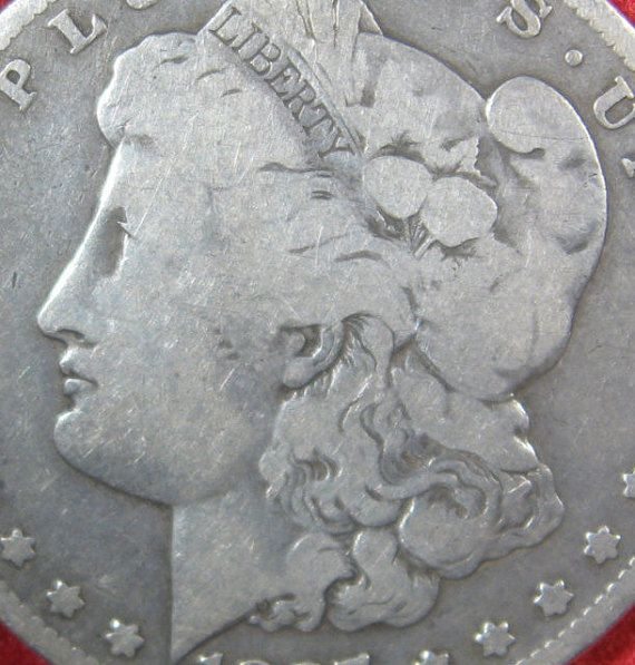 Morgan Silver Dollar Coin 1897 O Silver Dollar by ThatsOldMoney