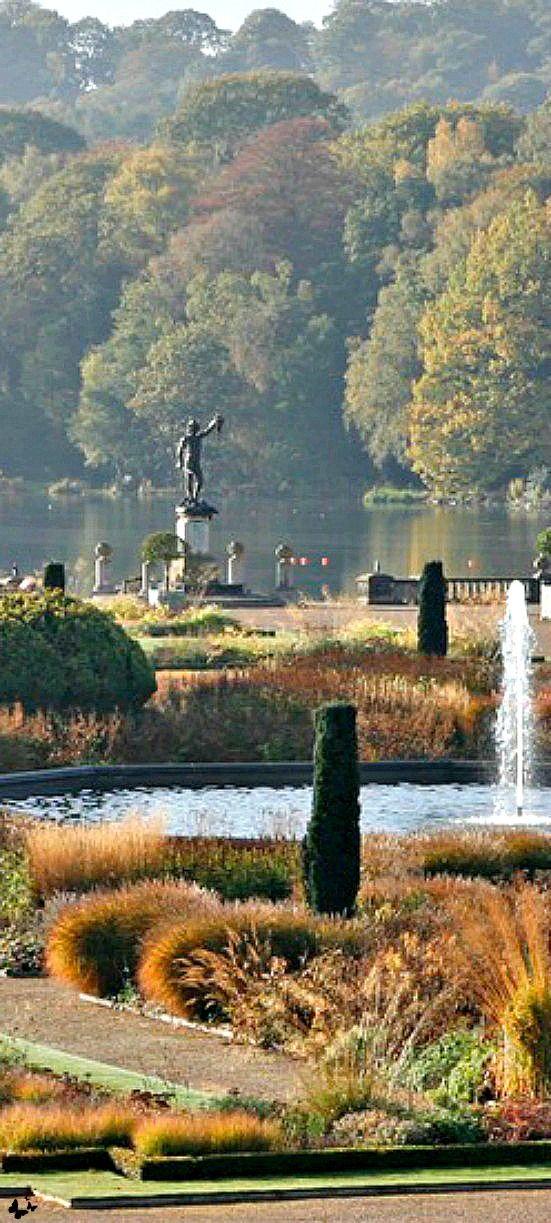 Trentham Gardens, Stoke-on-Trent, Staffordshire, England