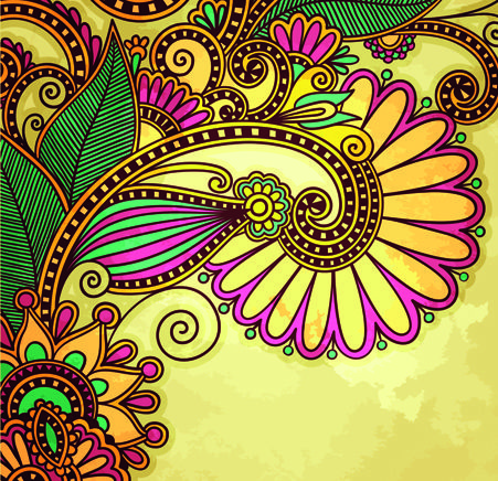 I love the 3Dish look. The colors and floral design makes it pop, literally. Very tropical and fun.