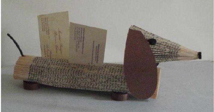 clara maffei: Folded book - Dachshund