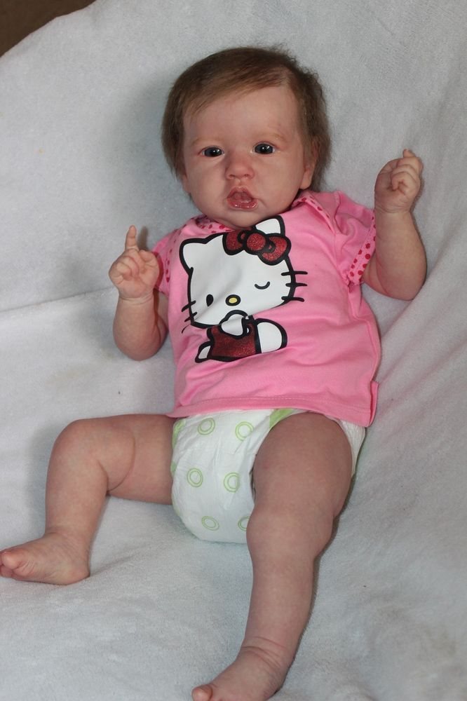 Reborn Babies Dolls Saskia By Bonnie Brown In Dolls