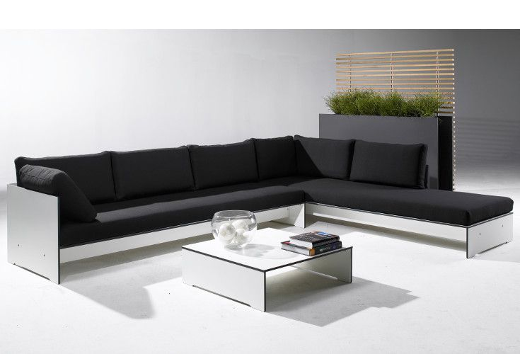 Modułowy zestaw Riva Lounge z hpl to nowoczesny mebel do biura