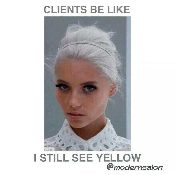 Hairdresser humor... hahah thanks Laura <3