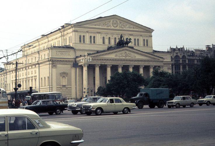 Bolshoi Theater, Moscow, 6-2-1977