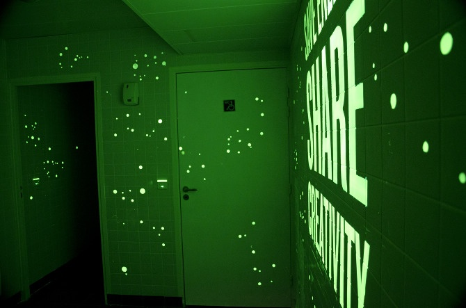 Glow In The Dark Paint | Typed U0026 Hand Lettered. | Pinterest | Dark, Display  And House