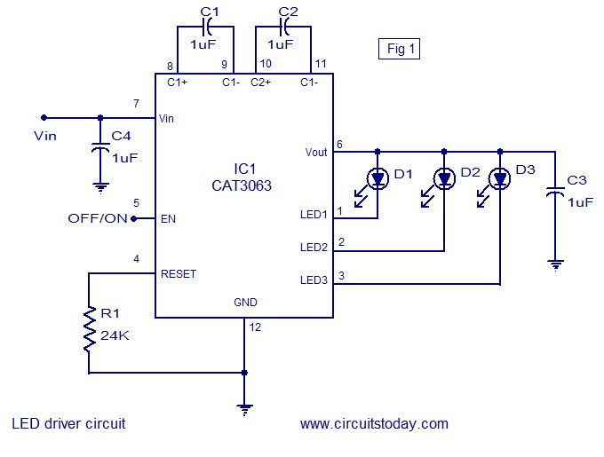 9 Watt Led Bulb Circuit Diagram