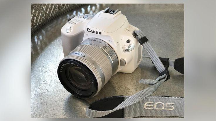 Digitale Spiegelreflexkamera EOS 200D - Was kann die kleine Weiße von Canon? *** BILDplus Inhalt *** - Multimedia - Bild.de