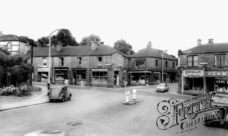 Town Centre c1960, Royston photo