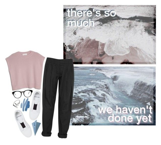 """""""COMING BACK NOW"""" by glowing-eyes ❤ liked on Polyvore featuring Pierre Hardy, MANGO, Alexander Wang, CB2 and 21 Men"""