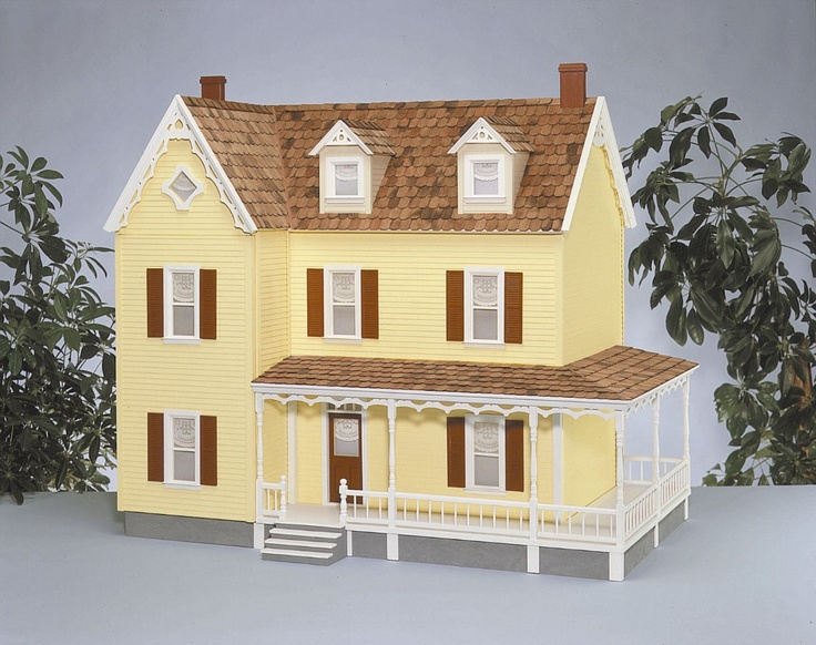 18 best images about victorian doll house we love on pinterest for Victorian style kit homes