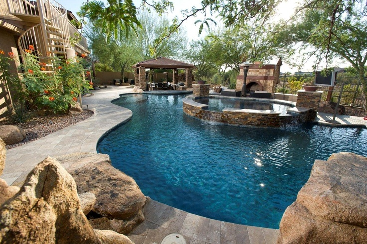 1000 images about new projects on pinterest pool for Natural pools arizona