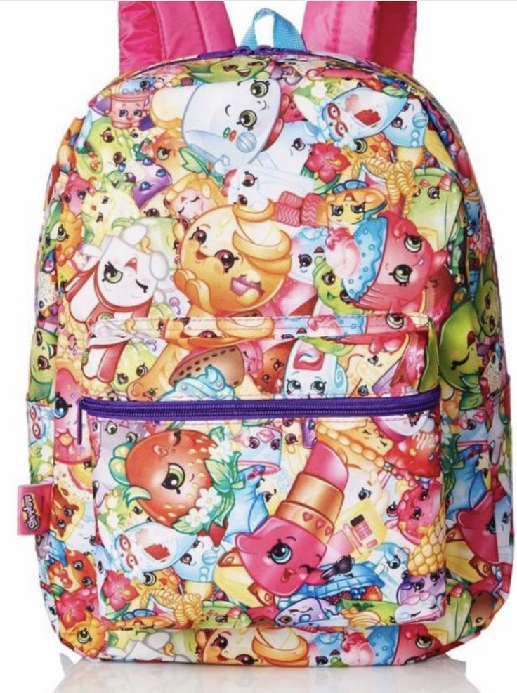 Shopkins backpack comes with free shopkins hair bow and free shipping