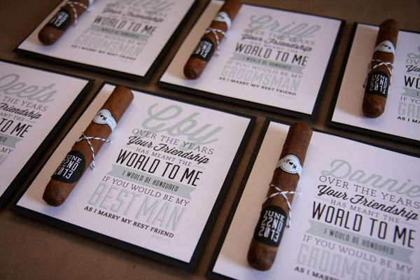 Bridal Party Invite by Kristy Wright, via Behance