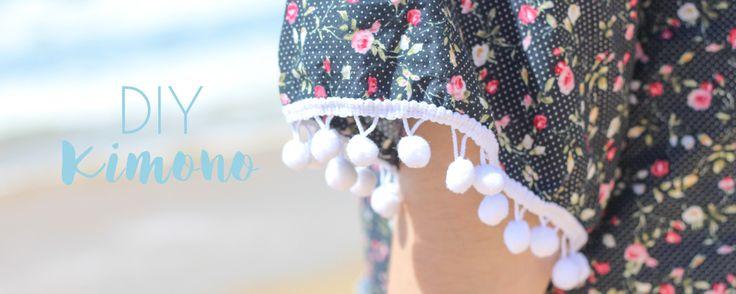 Pour cet été, découvrez le DIY du Kimono sur le blog. Facile, rapide et personnalisable il sera parfait pour vos journées à la plage !