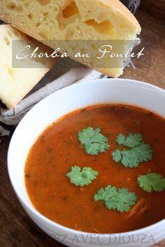 une nouvelle et délicieuse Chorba Algérienne. j'aime varier mes soupes pendant le mois du Ramadan et la préparer au poulet est vraiment une bonne alternative