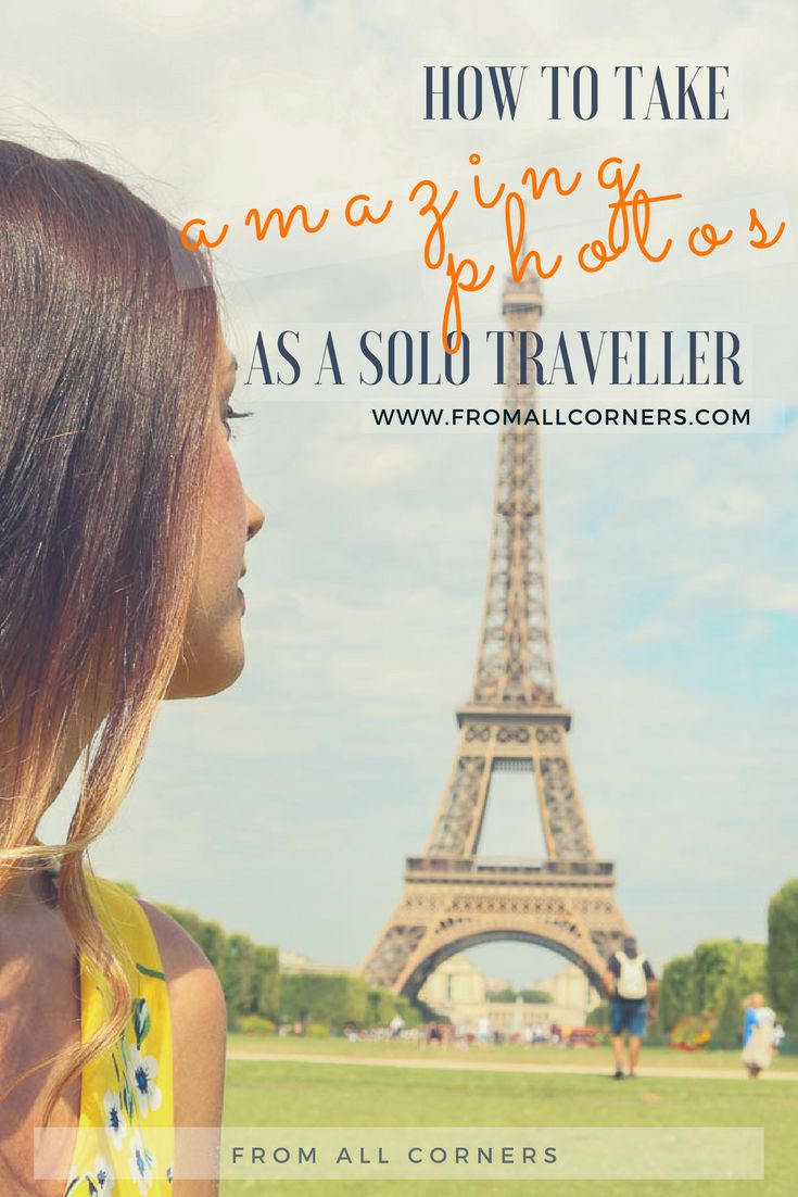 How to take photos as a solo traveller