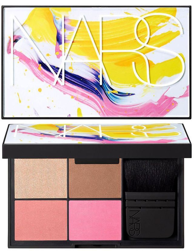 NARS Summer 2015 Gifting Sets - Blame It On NARS Blush Palette – Limited Edition – $68.00      Casino (Bronzing Powder)     Satellite of Love (Highlighting Blush)     Day Dream (Blush)     New Attitude (Blush)     Travel Size Ita Brush
