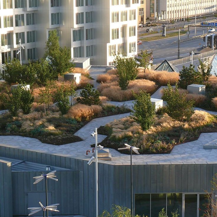 2349 best theory of green roofs images on pinterest for Roof garden design