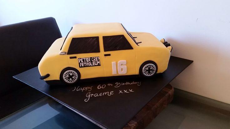 Datsun 1600 Cake