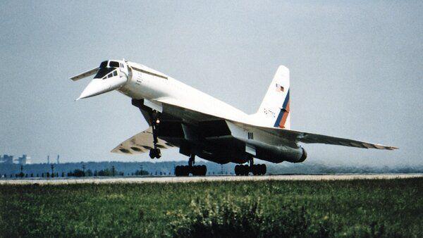 Ту-144 - Сверхзвуковой пассажирский самолет с форсажем ...