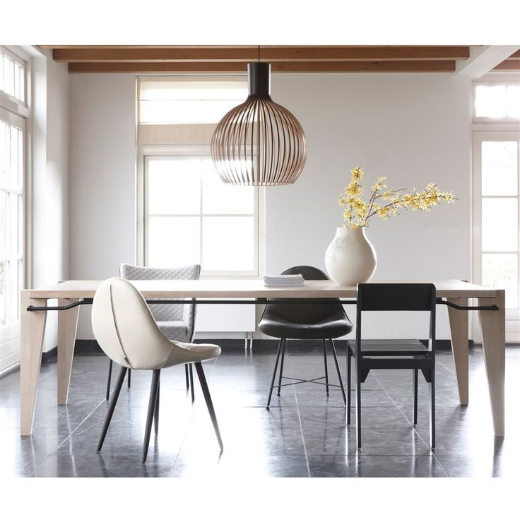 25 beste idee n over eettafel ontwerp op pinterest plateaus eettafel en eettafels - Tafel een italien kribbe ontwerp ...