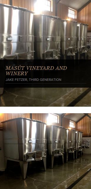 """Jake Fetzer testimonial : """"La Garde premium square open-top #fermenters save space, are easy to clean, and show off their unmatched craftsmanship. They are leading the way in #wine #tank innovation."""" #WineMaking #Winery #WineIndustry http://www.lagardeinox.com/en/realisations"""