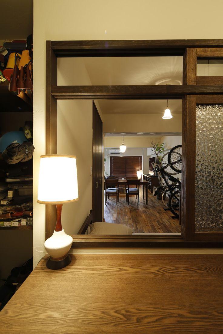 リフォーム・リノベーションの事例|室内窓|施工事例No.332おもいきり趣味を楽しむ住まい|スタイル工房