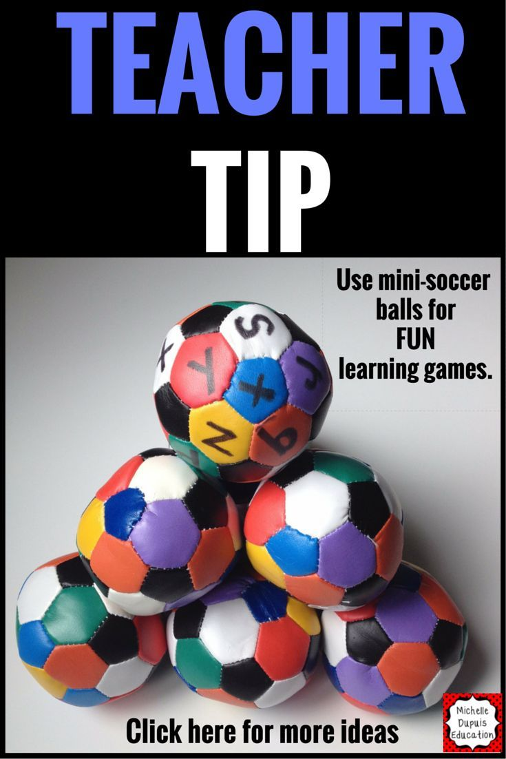 Each ball has approximetely 26 colored spots on them PLUS 6 black spots. Using a black Sharpie, you can write anything you want on them. - letters - numbers - countries Or whatever you can think of that matches your curriculum.