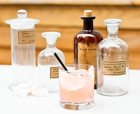 rose cardamom cocktail