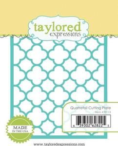 Taylored Expressions Dies, Cutting Plate -  Quatrefoil
