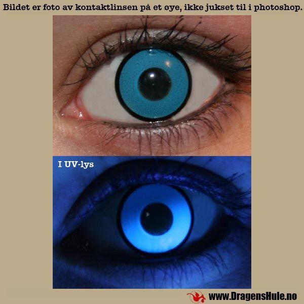 Endagslinser: UV Blå (par) fra DragensHule. Om denne nettbutikken: http://nettbutikknytt.no/dragens-hule-no/