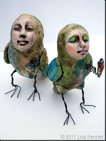 Might be fun to make some really weird looking sculptures of me and the hubs
