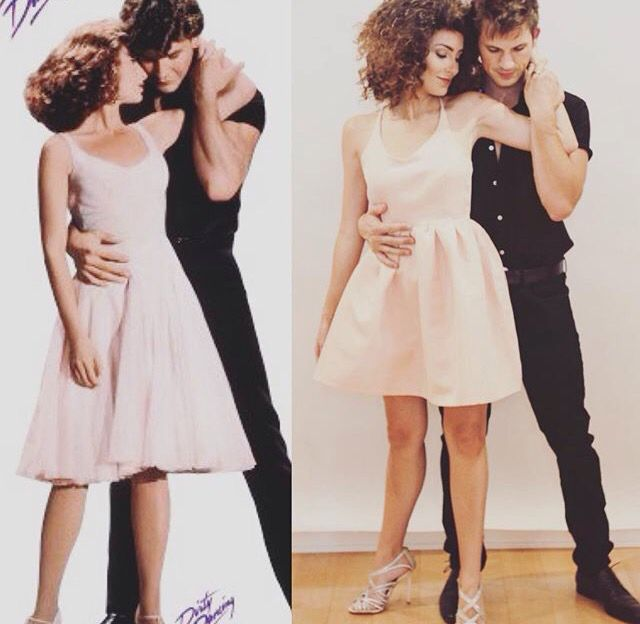 Dirty Dancing Baby & Johnny Halloween costumes