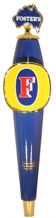 Fosters beer tap handle