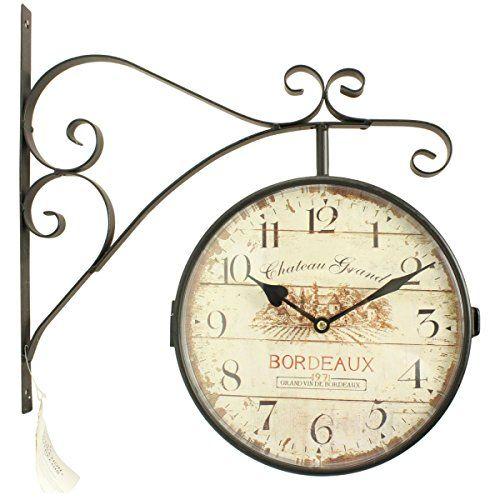 1000 id es sur le th me horloges anciennes sur pinterest for Grosse horloge murale ancienne