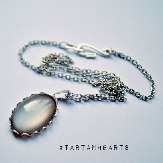 Coal Hearted Nail Polish Pendant Inspired by The by TartanHearts