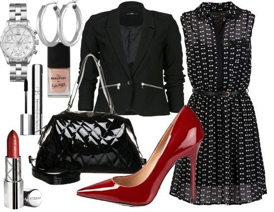 love the dress rentr e chic tenue de travail city girl style pinterest. Black Bedroom Furniture Sets. Home Design Ideas