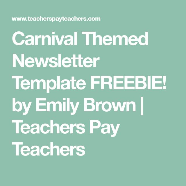 The  Best Newsletter Templates Ideas On   Newsletter