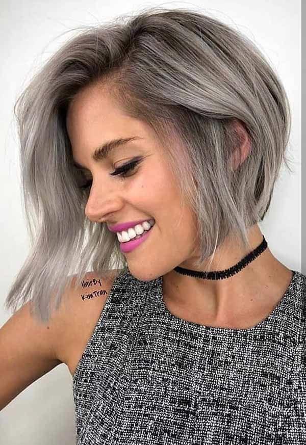 99 Beautiful Women Short Hairstyles Ideas For Fine Hair To Try Short Haircut Styles Short Hair Styles Chic Short Haircuts