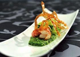 Recept voor Langoustines met broccoli en koriander | Solo Open Kitchen