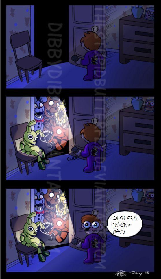Five Nights At Freddy's 1 : nights, freddy's, Komiksy, FNaF'a, Funny,, Comics,, Anime