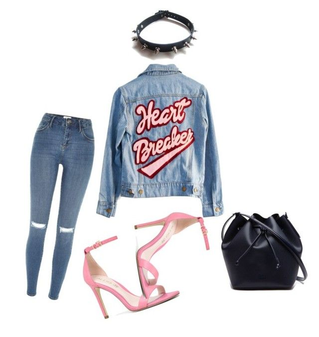 """""""yourmajesty x HEARTBREAKER, you've got the best of me // Mariah Carey"""" by yourmajestyjordine ❤ liked on Polyvore featuring High Heels Suicide, River Island, Lacoste, ALDO and WithChic"""