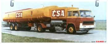 Liaz 110.053 Tanker with CSA